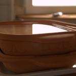 Ceramic baking bowl