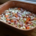 Vegetables in the romertopf