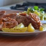 Pork roast rolls